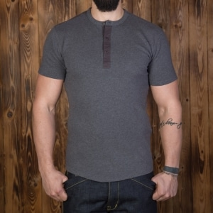 1954 Utility Shirt Short Sleeve grey
