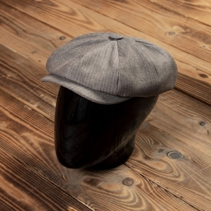 1928 Newsboy Cap HBT brown