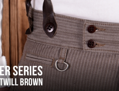 1905 Hauler Series : herringbone twill brown