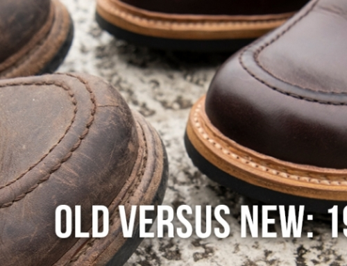 Old Versus New: 1948 Moc Toe