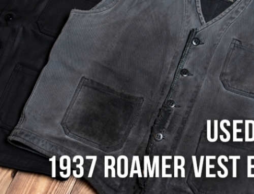 Used and Bruised: 1937 Roamer Vest Elephant Skin