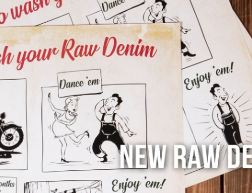 New Raw Denim Poster available!