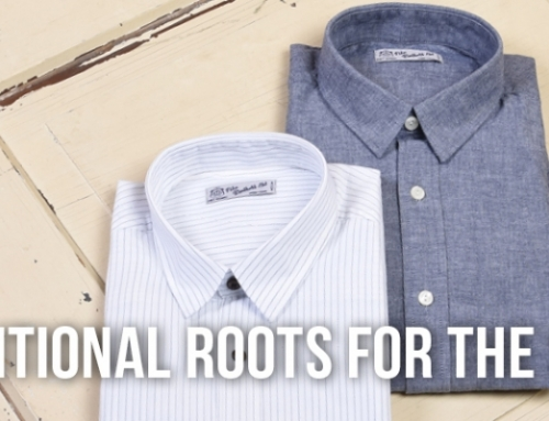 Traditional roots for the smart look – 1947 Salesman Shirt