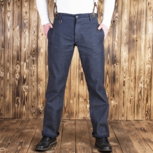 1942 Hunting Pant steel blue denim