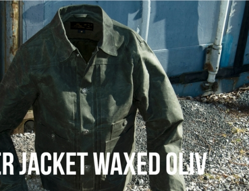 NEW: 1908 Miner Jacket waxed oliv