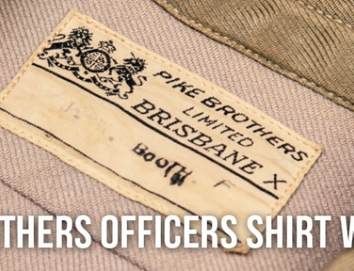 1942 Pike Brothers Officers Shirt Worsted Wool