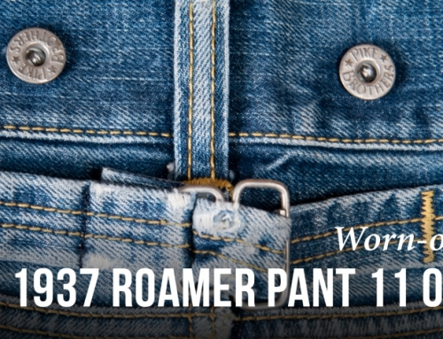 Worn-out project: 1937 Roamer Pant 11oz metal