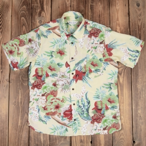 1937 Roamer Shirt Short sleeve Maohu yellow