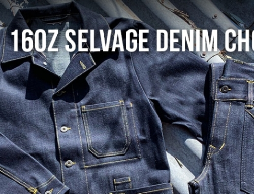 16oz Selvage Denim Chopper Series – Made for hard use