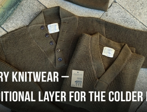 Military Knitwear – An additional Layer for the colder days