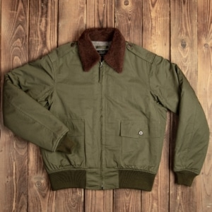 1943 B-10 Flight Jacket olive drab