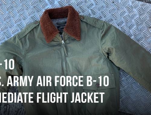 The U.S. Army Air Force B-10 intermediate flight jacket