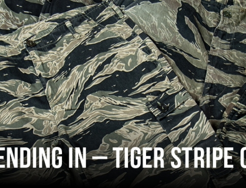 The Art of blending in – Tiger stripe Camoflage