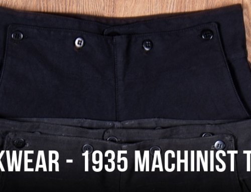 Swedish workwear -1935 Machinist Trousers