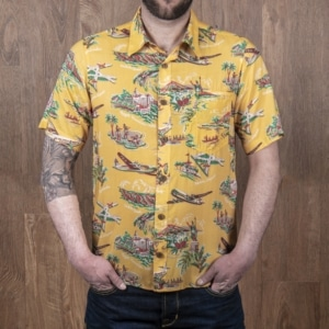 1937 Roamer Shirt Short sleeve Pulemoku yellow