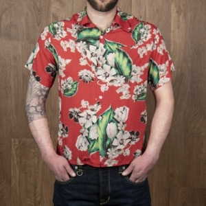 1947 Albert Shirt Pulemoku red