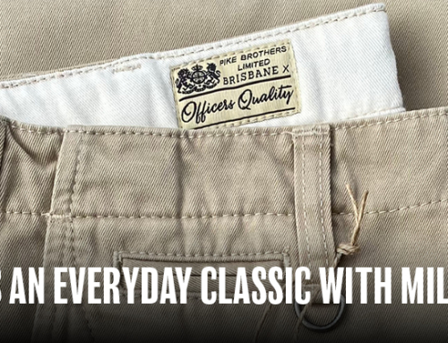 Chino Trousers an everyday classic with military roots